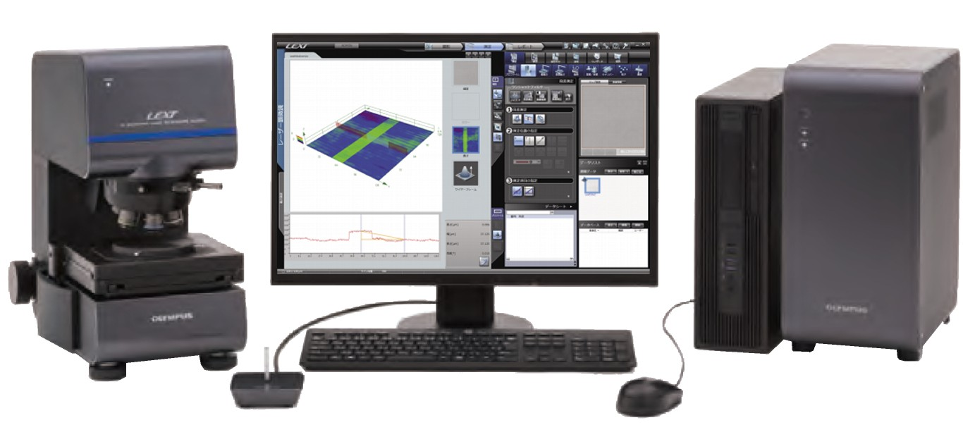 3D測定レーザー顕微鏡 LEXT OLS-5000